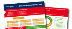 Crisismanagement kaart